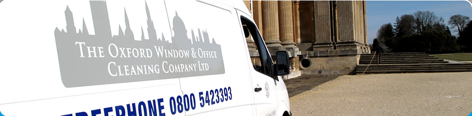 Oxford Window Cleaners Van